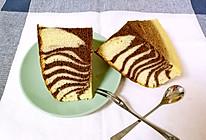 斑马纹戚风蛋糕的做法
