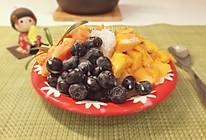 水果蜜豆刨冰 的做法