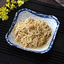 花生酱拌面(附上自制面条过程)#10分钟早餐大挑战#