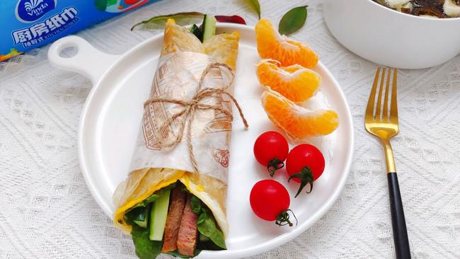#厨房有维达洁净超省心#营养早餐的做法