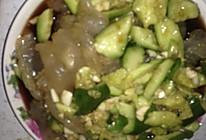 凉拌黄瓜海蜇头的做法