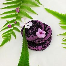 烤紫薯糯米饼