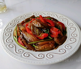 蚝酒甜椒酱香茄的做法