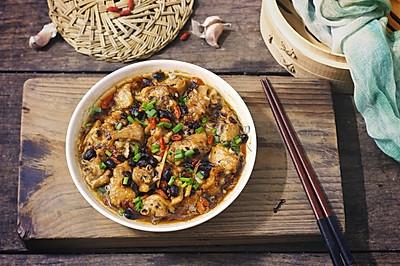 新手菜,豆豉蒸鸡中翅