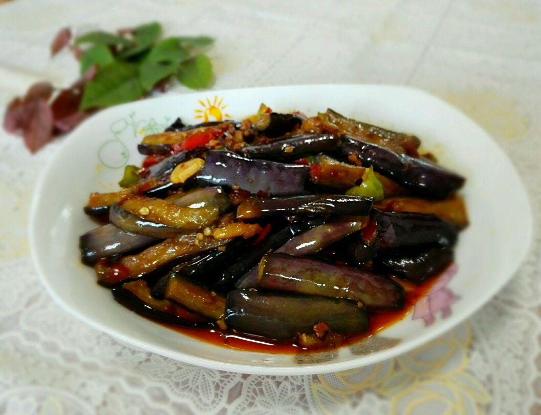鱼香茄子(免油炸版)