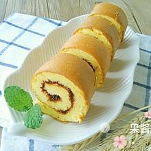 杨梅果酱夹心蛋糕卷