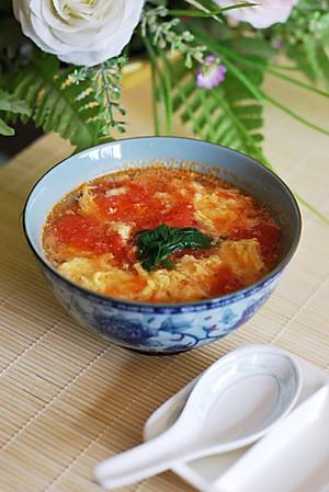 西红柿鸡蛋汤 【图片】