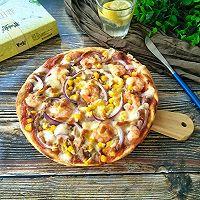 盐田虾披萨#脊岭岛盐田虾美味大挑战#