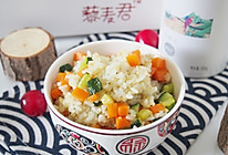 白藜麦彩蔬炒饭的做法