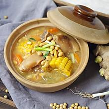 猪蹄这么做,清香美味无腥味|黄豆玉米焖猪蹄#洗手做羹汤#