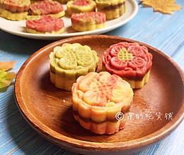 多彩豆沙绿豆糕的做法