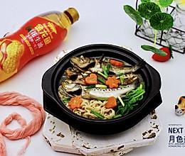 补钙降血脂的海杂鱼荞麦面+金龙鱼舌尖美味.油你掌勺的做法