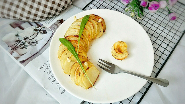 孜然黄油烤土豆的做法