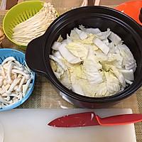 厨房小白做大餐/韩式泡菜火锅的做法图解2