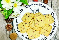 蔓越莓橙皮丁曲奇饼干~~不打发黄油版的做法