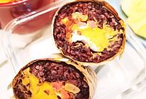 #321沙拉日#咸饭团蛋黄的做法