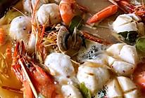 海鲜墨鱼丸冬阴功汤的做法