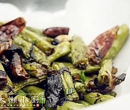 橄榄菜干煸四季豆的做法