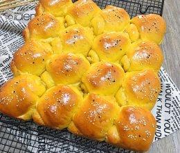 南瓜椰蓉面包卷的做法