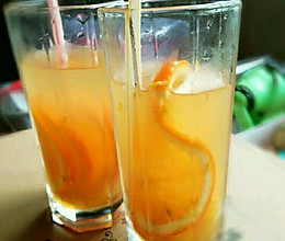 冰橘茶的做法