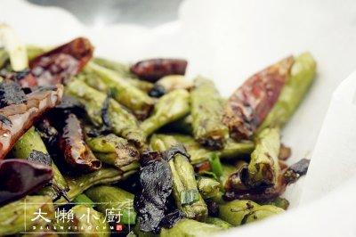 橄榄菜干煸四季豆