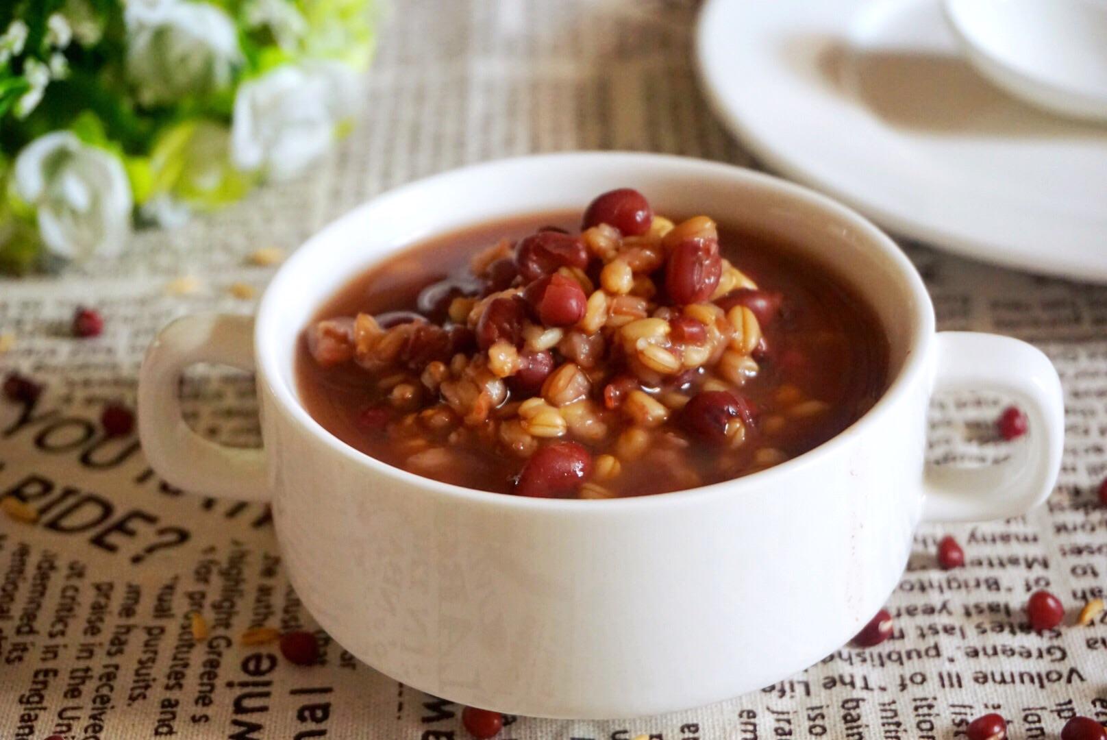 红豆绿豆瘦身粥做法_营养早餐:红豆燕麦粥的做法_菜谱_豆果美食