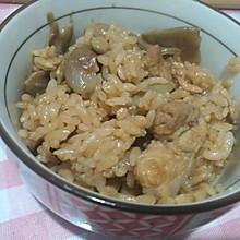 扁豆肉丁焖饭