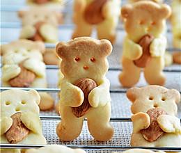 小熊杏仁饼干的做法