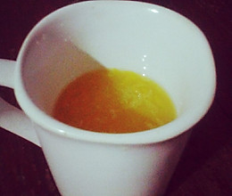 自制橙汁果肉版(无需榨汁机)的做法