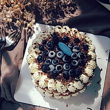 巧克力奶油蛋糕#厉害了我的零食#