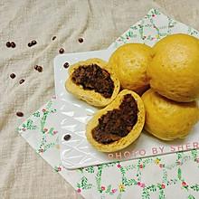【健康轻食】南瓜全麦红豆包子
