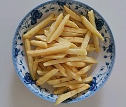 薯条(快手健康薯条)的做法
