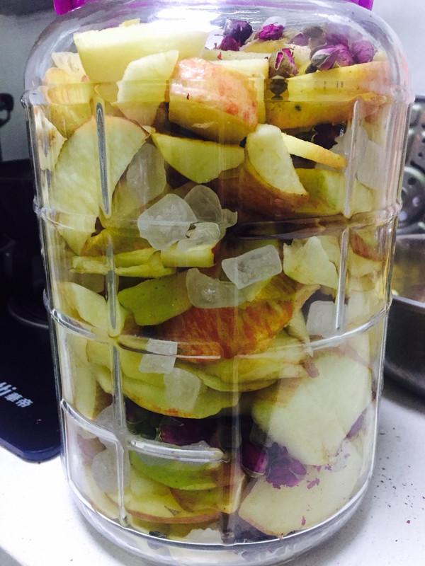 玫瑰苹果醋的做法