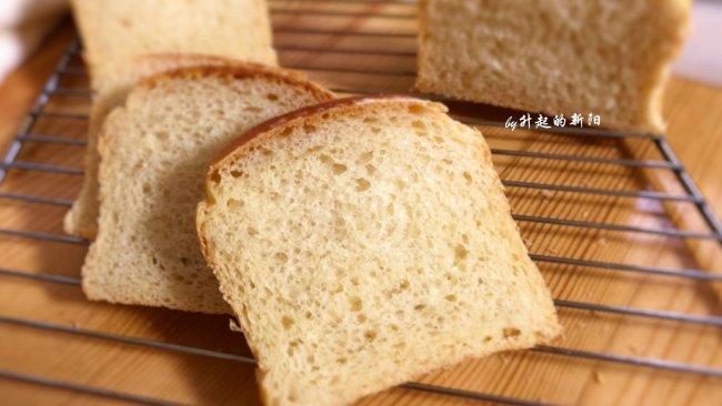 中种无糖吐司面包的做法