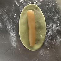 清凉一夏———苦瓜绿豆沙包 降个火吧的做法图解9