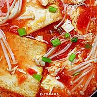 番茄金针菇豆腐汤的做法图解13