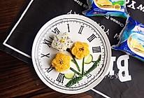 小花妹妹,来吃早餐啦!芝士花朵蔬菜饭团的做法