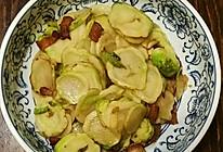 家常菜油渣芥菜头的做法