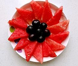 太阳花水果拼盘#快乐宝宝餐#的做法