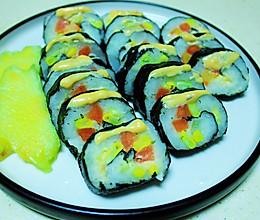减肥吃什么?低脂美味的快手土豆泥寿司的做法