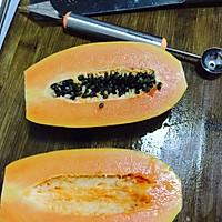 冰糖木瓜的做法图解1
