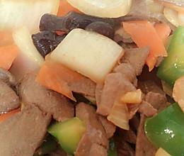 热菜炒猪肝的做法