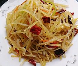 炒土豆丝-麻辣的做法