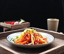 夏日凉菜——凉拌三丝的做法