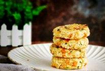 藜麦大米饭煎饼的做法