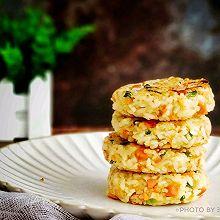 藜麦大米饭煎饼