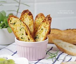 蒜香烤法棍#快手又营养,我家的冬日必备菜品#的做法