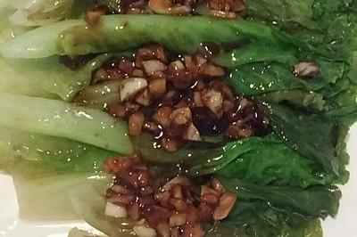蒜蓉蚝油生菜(家常做法超简单)