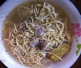 豆腐丝汤的做法