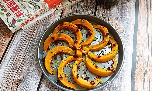 蜂蜜烤南瓜的做法